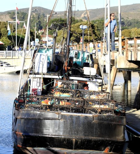 Crab Fishing Boats In Half Moon Bay 3