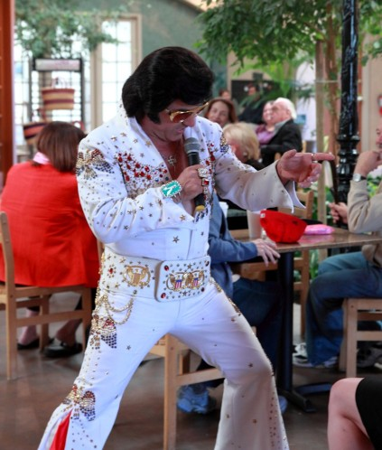 Elvis Is In The Building
