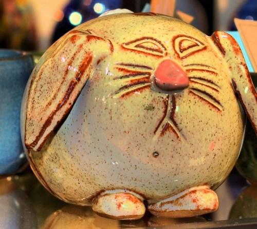 Stoneware Bunny