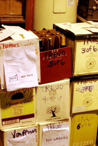 Cases Of Wine For Happy Customers