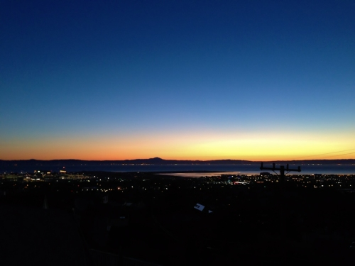 Sunrise Over San Francisco Bay