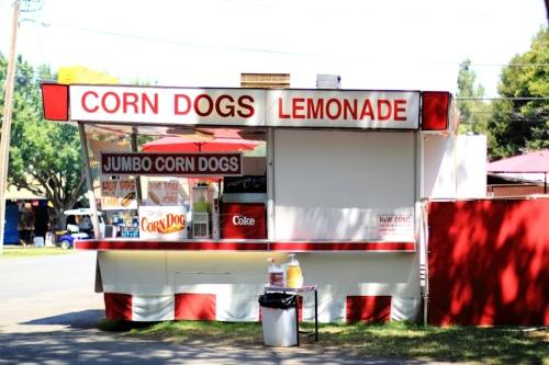 Corn Dogs Lemonade