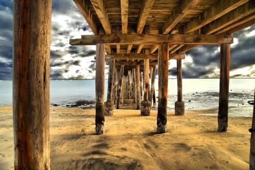 Old Pillar Point Pier