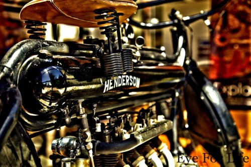 1912 Henderson Motorcycle
